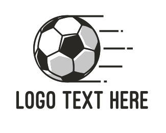 Ground - Fast Football logo design