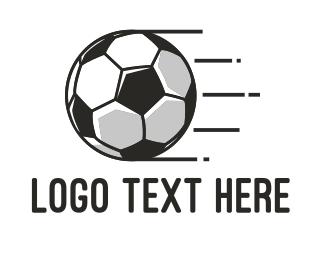 Football - Soccer Football logo design