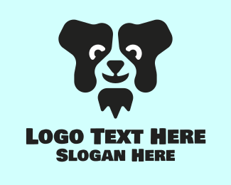 Pet Clinic - Black Dog logo design