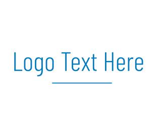 High Technology - Simple High Tech Wordmark logo design