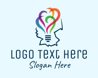 Utility - German Lightbulb Map  logo design