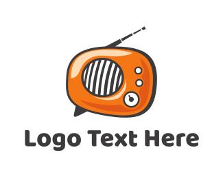 Podcast - Radio Talk logo design