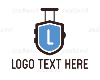 Travel Agency - Travel Shield logo design