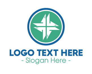 Catholic - Modern Medical Cross logo design