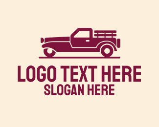 Trucking Service - Farm Delivery Truck logo design