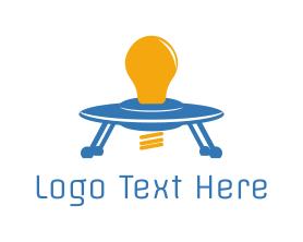 Light - Space Light logo design