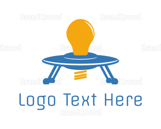 Alien - Space Light logo design