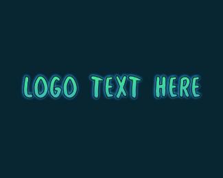 Handwritten - Glow Handwritten Wordmark logo design