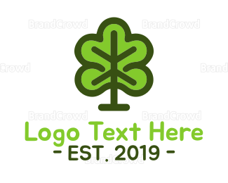 Gardening - Green Forest logo design