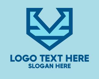 Cybersecurity - Shield Tech logo design