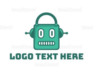 Radio - Robot Shop logo design