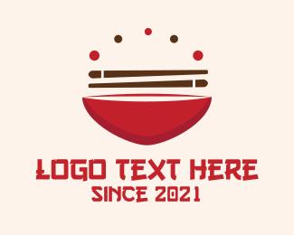 Chopsticks - Asian Food logo design