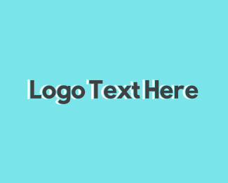 Text - Generic Grey Text logo design