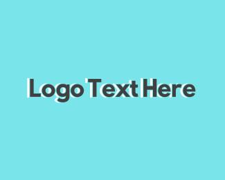 Generic Grey Text Logo