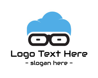 Web Developer - Geek Cloud logo design