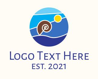 Resort - Summer Beach Resort logo design
