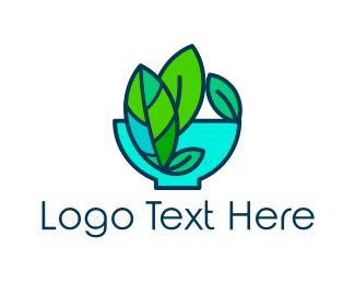Lettuce - Salad Bowl logo design
