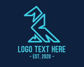 Vulture - Abstract Eagle logo design