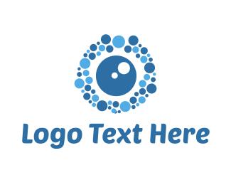 Vision - Bubble Vision logo design