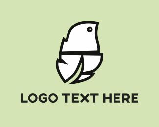 White Feather  Logo