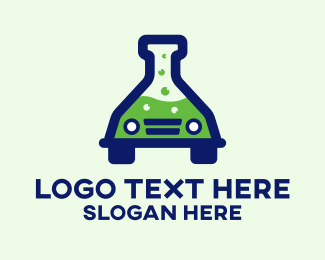 Science Experiment - Car Science Experiment logo design