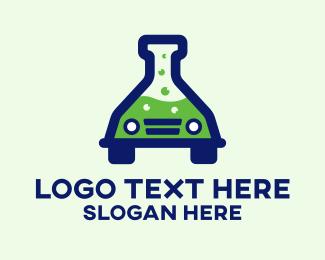 Science - Car Science Experiment logo design