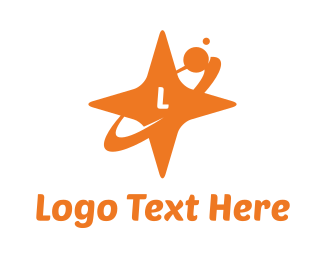 Orange Star Orbit Logo
