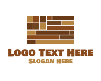 Cupboard - Flag Flooring logo design