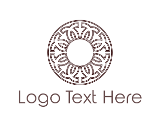 Decorative - Greek Circle logo design