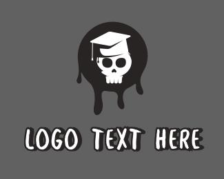 Graduation - Skull Graduate logo design
