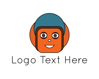 Character - Orange Character logo design