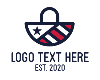 Purse - American Bag logo design