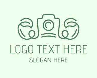 Editing - Vine Leaf Camera logo design