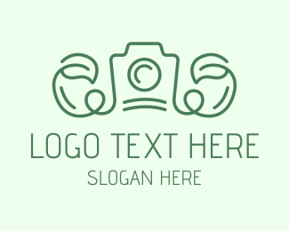 Events - Vine Leaf Camera logo design