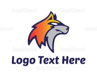 Basketball Team - Fox Face logo design