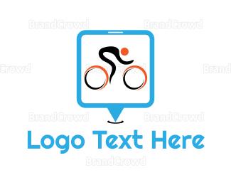 Biker - Bike Race logo design
