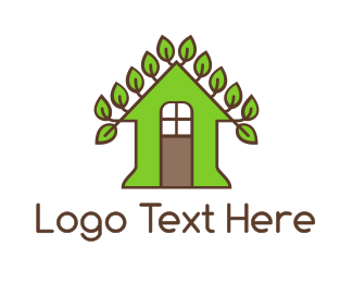Vine - Vine Leaf House logo design