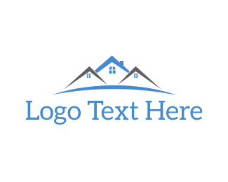 Neighborhood - Townhouse Complex logo design