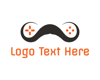 Xbox - Mustache Gaming logo design