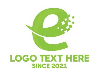 Web Developer - Digital E Commerce logo design