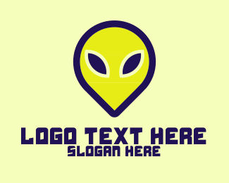 Extraterrestrial - Alien Ink logo design