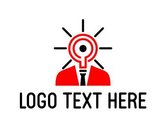 Intelligent - Bright Idea logo design