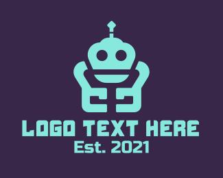 Droid - Repair Robot logo design