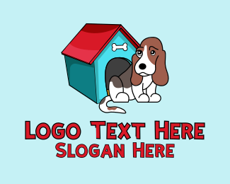Online Pet Store - Dog Pet Kennel logo design