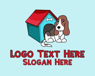 Pet Store - Dog Pet Kennel logo design