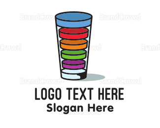 Liquid - Drink Load logo design