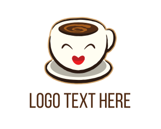 Happiness - Happy Espresso logo design
