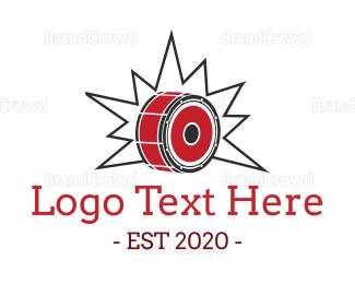 Fest - Loud Drum logo design