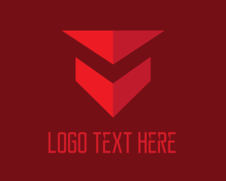 Security - Red Shield logo design