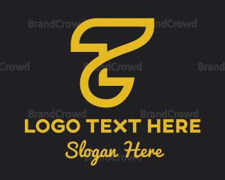 Fortune - Abstract Golden Letter T logo design